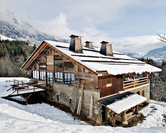 Weekend Cabin: Megeve, France